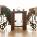ふたつの車椅子