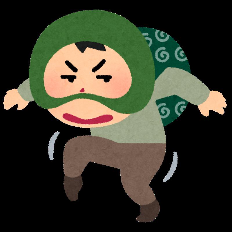 泥棒のイメージ